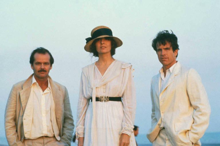 Jack Nicholson, Diane Keaton, Warren Beatty