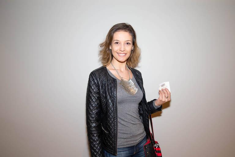 A empresária Lucia Garcia
