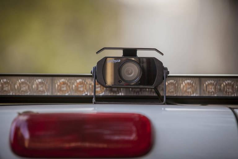 Câmeras em viaturas da CET