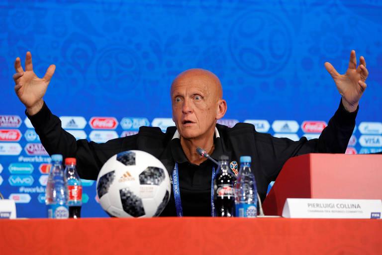 Fifa diz que consulta ao VAR representa 1,5% de tempo parado em jogos da Copa