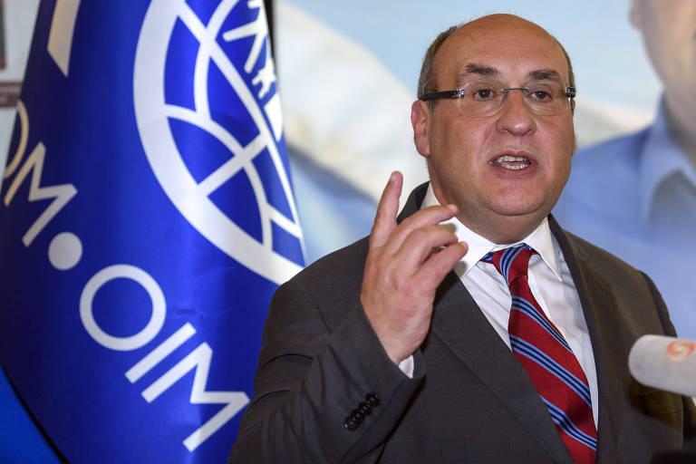 O português António Vitorino, que foi eleito para comandar a Organização Internacional para as Migrações