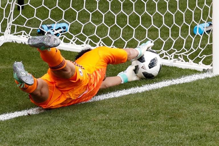As maiores falhas de goleiros na Copa do Mundo