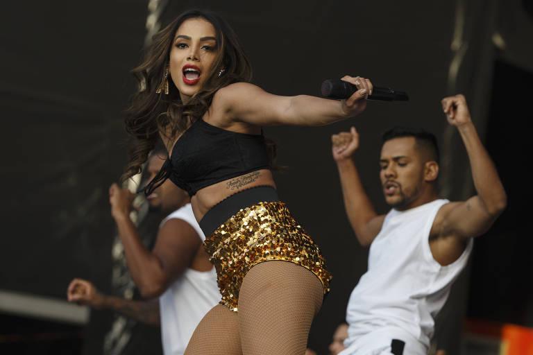 Anitta estreou no Rock in Rio e subiu ao palco Mundo em Lisboa no segundo dia do festival, em 24 de junho