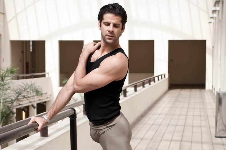 O bailarino Marcelo Gomes, em foto de 2011