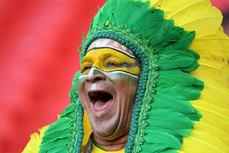 Torcida brasileira na Copa da Rússia