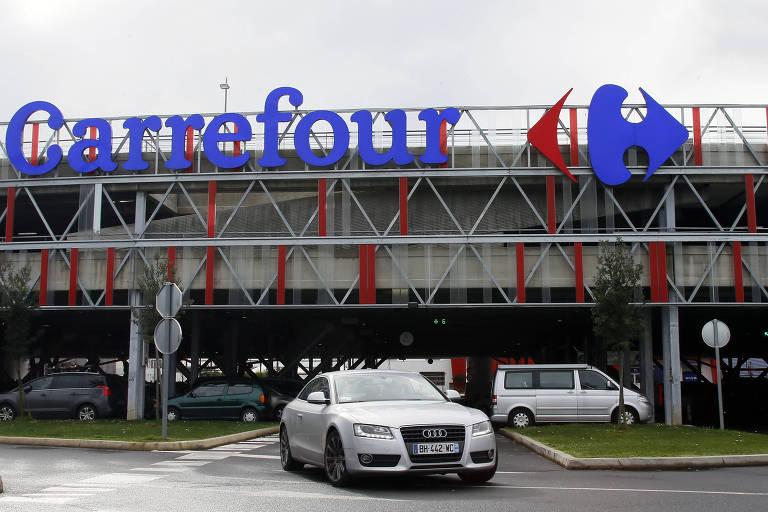 Loja do Carrefour em Anglet, na França