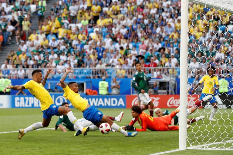 Seleção brasileira não perdeu vocação pelo ataque, mas ganhou rivais