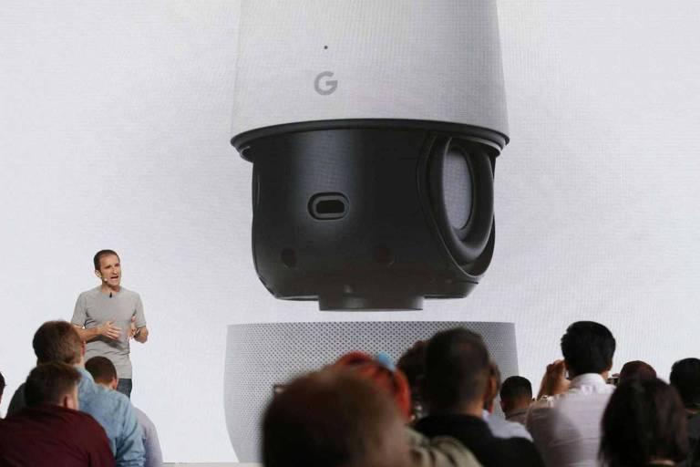Apresentação do Google Home em San Francisco