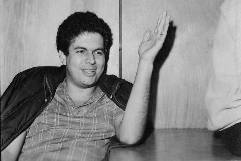 SÃO PAULO, SP, BRASIL, 09-10-1968: O estudante Vladimir Palmeira no Crusp, em São Paulo (SP). (Foto: Cícero/Acervo UH/Folhapress)