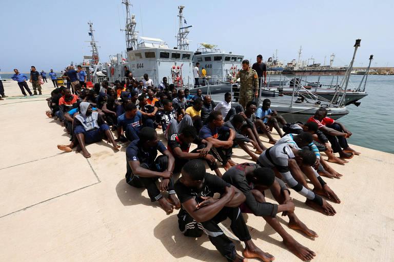 Naufrágios de navios de imigrantes no Mediterrâneo