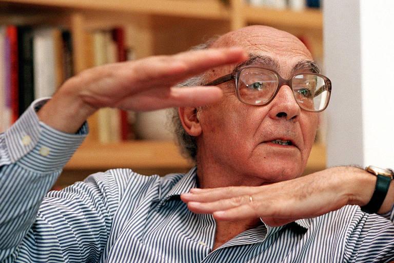 O escritor português José Saramago