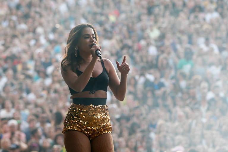 Anitta em show no Rock in Rio Lisboa