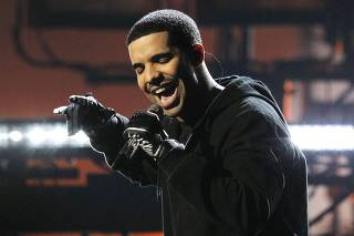 Singer Drake performs at the 2011 American Music Awards in Los Angeles