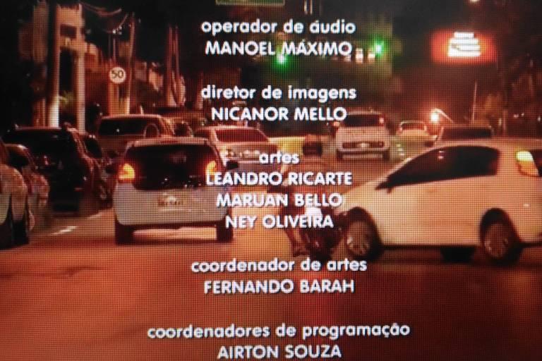 Reprodução do acidente transmitido ao vivo pelo MT TV 2ª edição