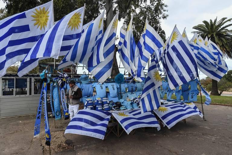 Montevidéu se prepara para Uruguai x França