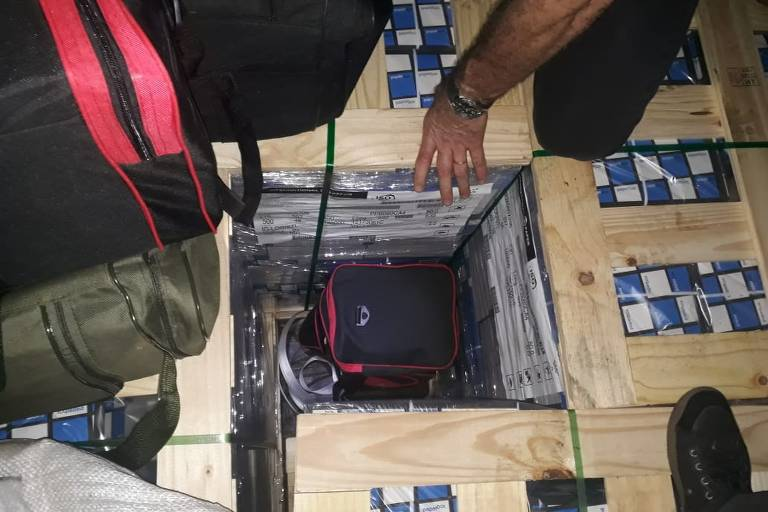 Cocaína no porto de Santos