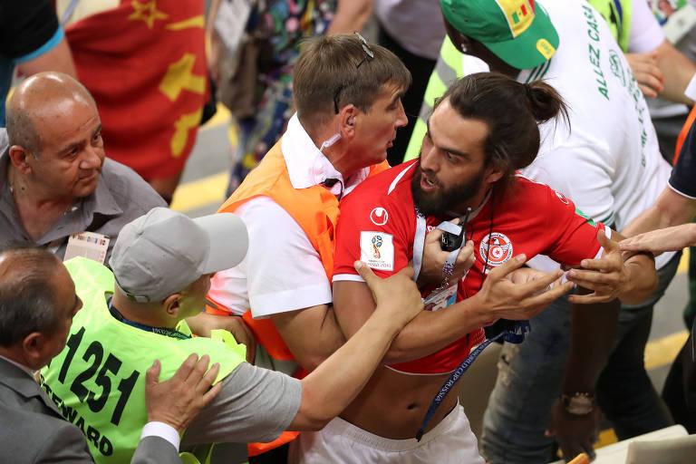 Atitudes ruins durante a Copa do Mundo da Rússia