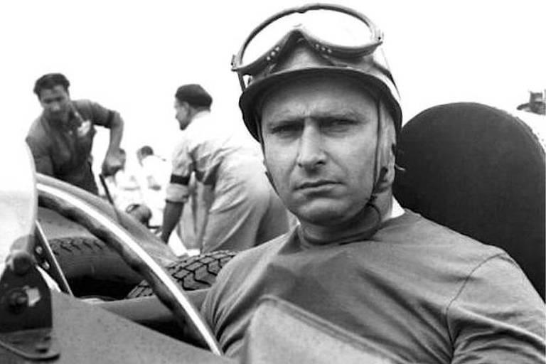 Juan Manuel Fangio, piloto argentino cinco vezes campeão da F-1