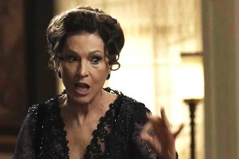 Lady Margareth em cena de 'Orgulho e Paixão'