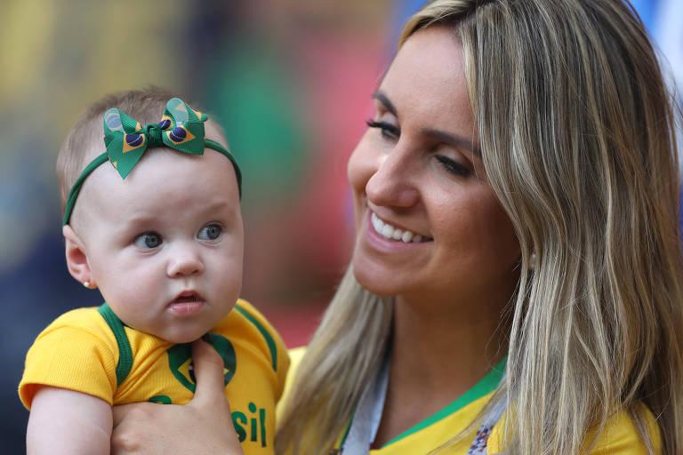 Crianças nos estádios da Copa do Mundo
