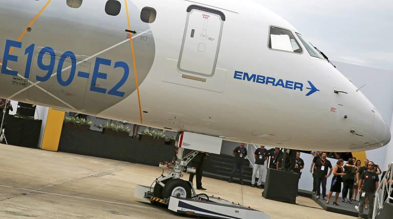 Aeronave E190-E2 da Embraer