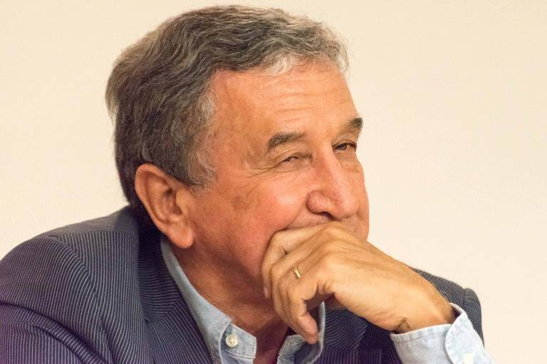 Carlos Alberto Parreira, no Hotel PortoBay do Rio de Janeiro, durante workshop sobre a Copa