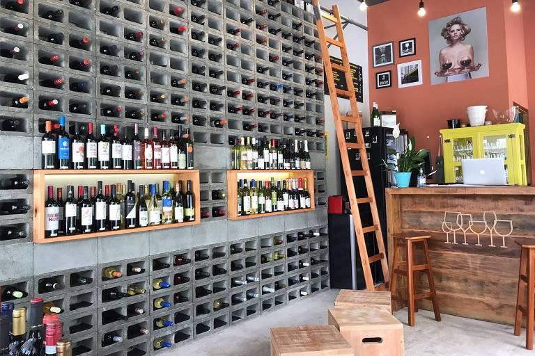Salão do Prosa e Vinho, na Galeria Metrópole