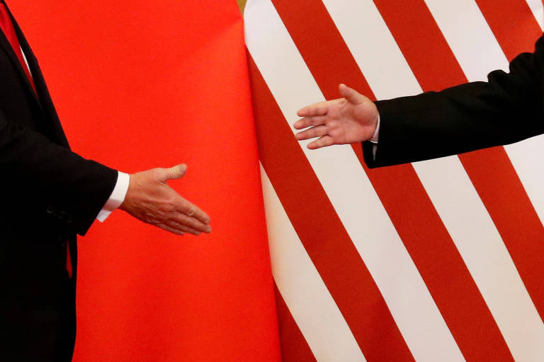 Encontro entre o presidente dos EUA, Donald Trump, e o presidente da China, Xi Jinping