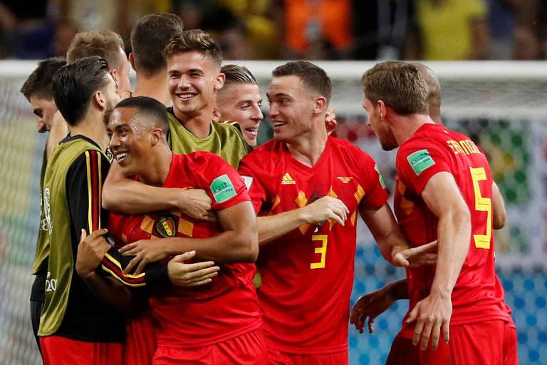 Brasil x Bélgica, na Copa do Mundo da Rússia