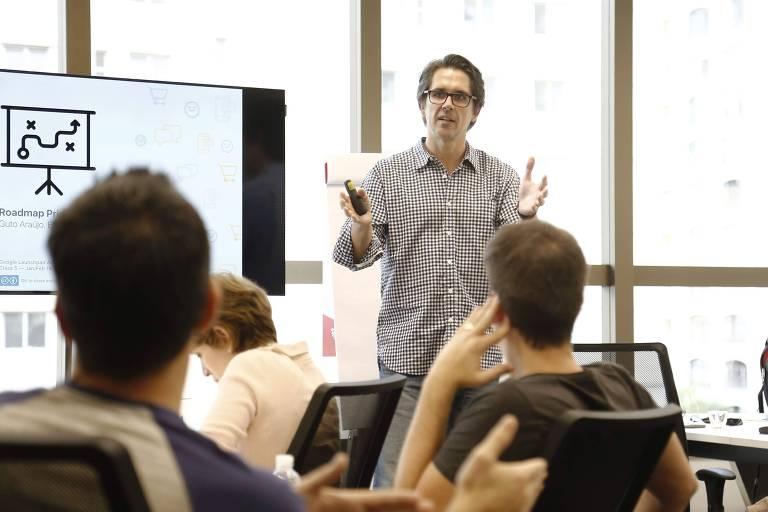 Mentoria com Guto Araújo na primeira edição do programa Launchpad Accelerator