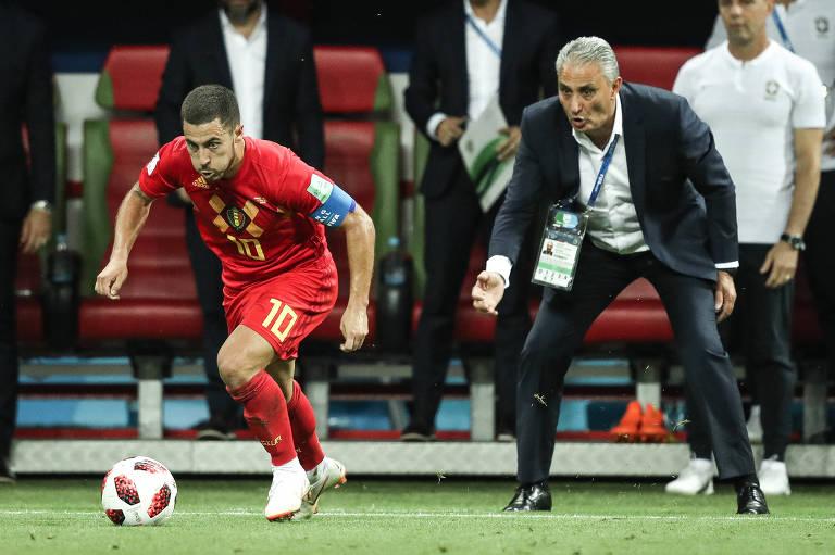 Brasil x Bélgica na Copa do Mundo da Rússia