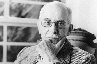 O crítico e historiador da literatura Antonio Candido de Mello e Souza