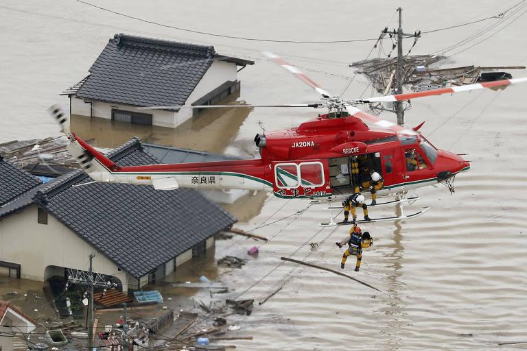 Chuvas no Japão