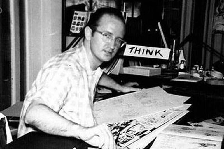 Steve Ditko, desenhista e roteirista norte-americano que ajudou a criar os primeiros quadrinhos do homem-aranha