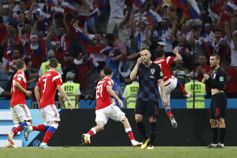 Rússia x Croácia
