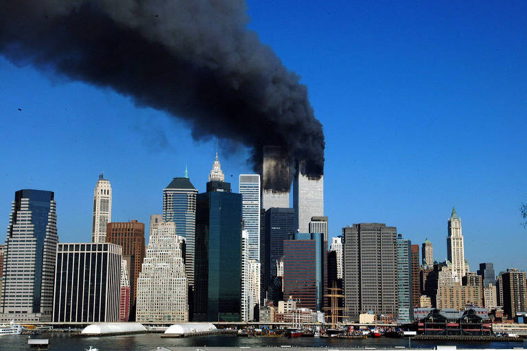 Ataque de 11 de setembro de 2001 em Nova York; cresce o número de pessoas com doenças ligadas ao caso