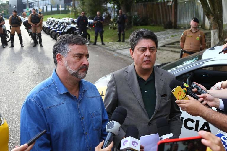 Os deputados Paulo Pimenta e Wadih Damous, autores do pedido de habeas corpus