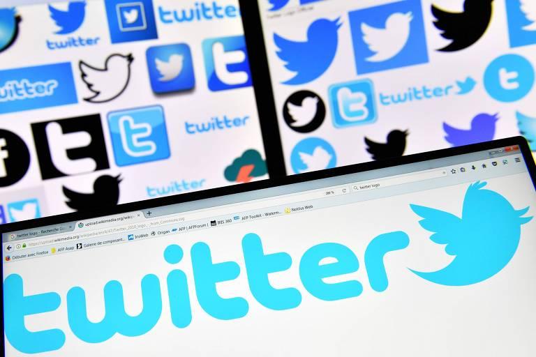 Logos e símbolos do Twitter
