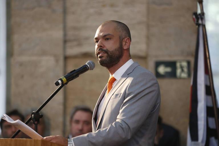 O prefeito de SP Bruno Covas