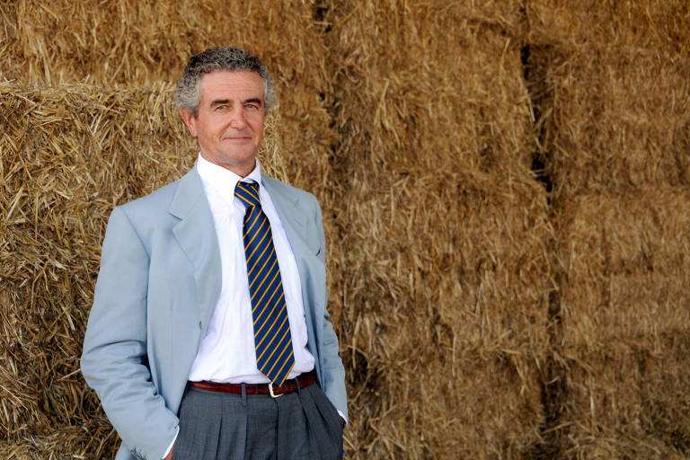 Carlo Benetton, um dos criadores da marca de roupas italiana