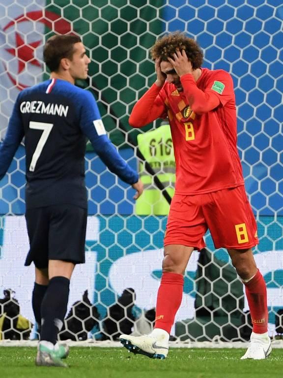 França x Bélgica