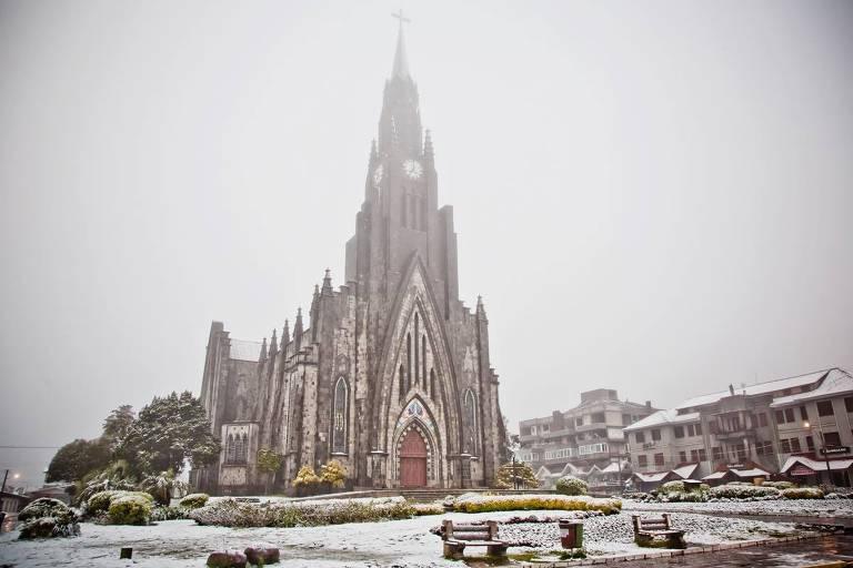 Neve e geada: cinco cidades muito frias no Brasil