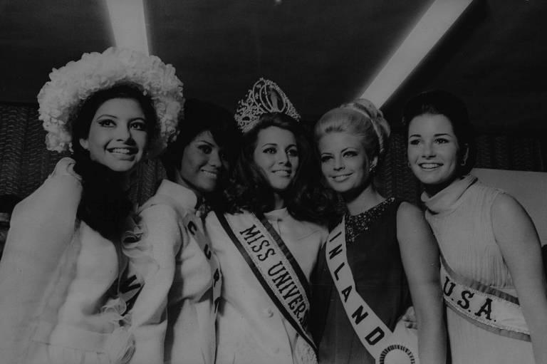 1968: Nos EUA, Martha Vasconcellos é eleita a mulher mais bela do mundo
