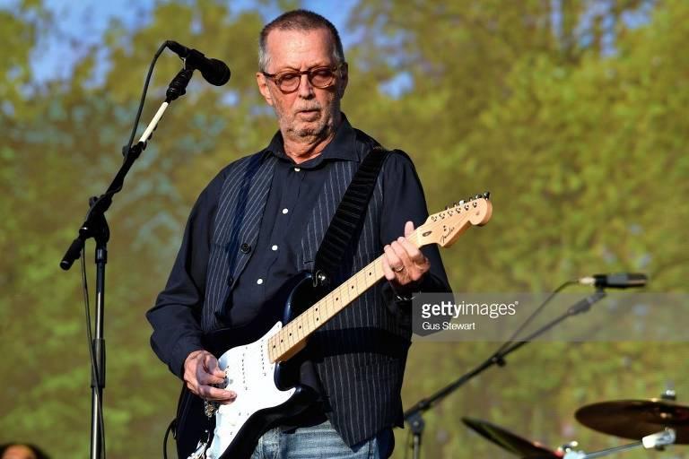 Eric Clapton no Hyde Park