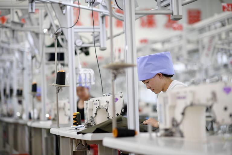As roupas chineses estão na mira do governo Trump, que ameça taxar itens de vestuário na nova lista de produtos chineses que serão submetidos à nova alíquota, de 10%