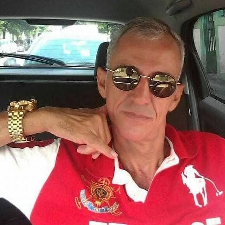 O policial aposentado Ronalde Pereira da Costa, 58, morto em tentativa de assalto na zona norte do Rio