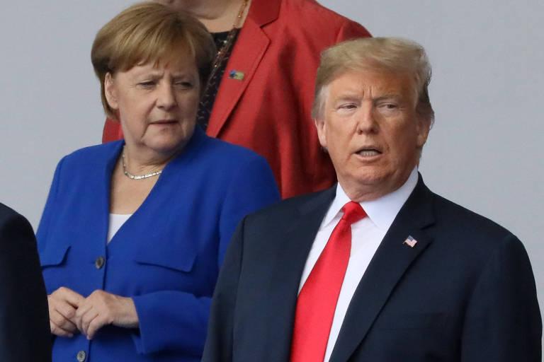 Conflitos de Trump com aliados