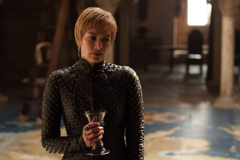 "Cersei Lannister (Lena Headey) em cena de ""Game of Thrones"""