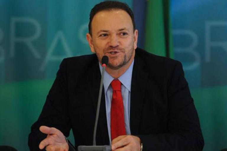 Edinho Silva, em evento em 2016