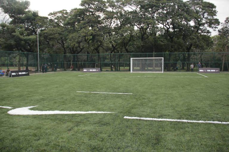 Campos para jogar futebol em São Paulo